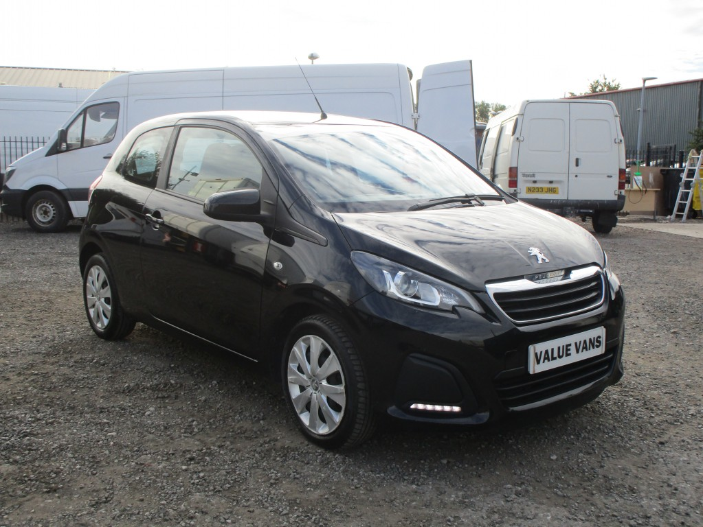 PEUGEOT 108 1.0 ACTIVE 3DR - 48,000 MILES - FREE TAX