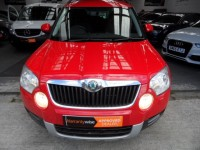 SKODA YETI 2.0 SE TDI CR 140-PS 6 SPEED SE 4X4 5 DR HATCH 140-PS DIESEL RED A/C ALLOYS FSH 2 PRE OWNERS
