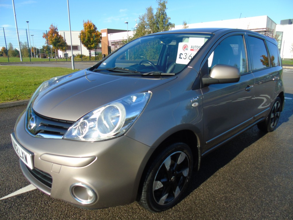 NISSAN NOTE 1.4 N-TEC PLUS 5DR