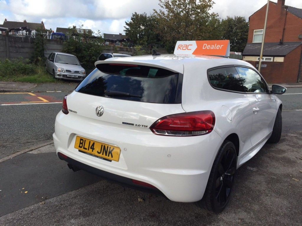 VOLKSWAGEN SCIROCCO 2.0 R LINE TDI BLUEMOTION TECHNOLOGY 2DR