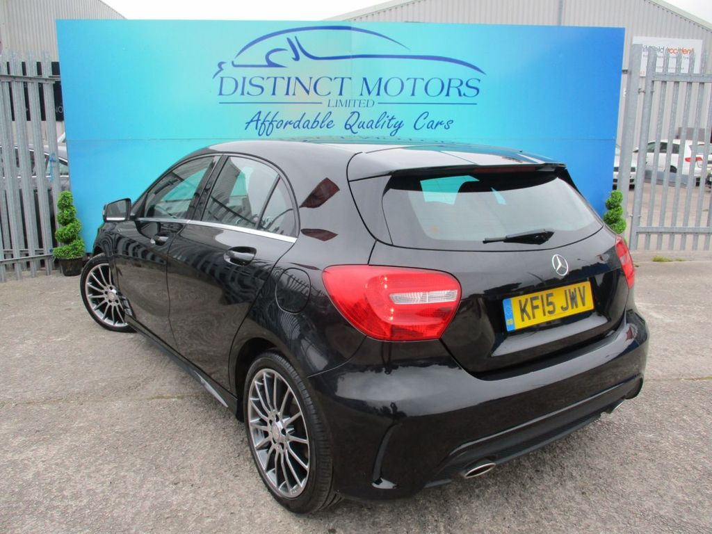 MERCEDES-BENZ A CLASS 1.5 A180 CDI BLUEEFFICIENCY AMG SPORT 5DR SEMI AUTOMATIC