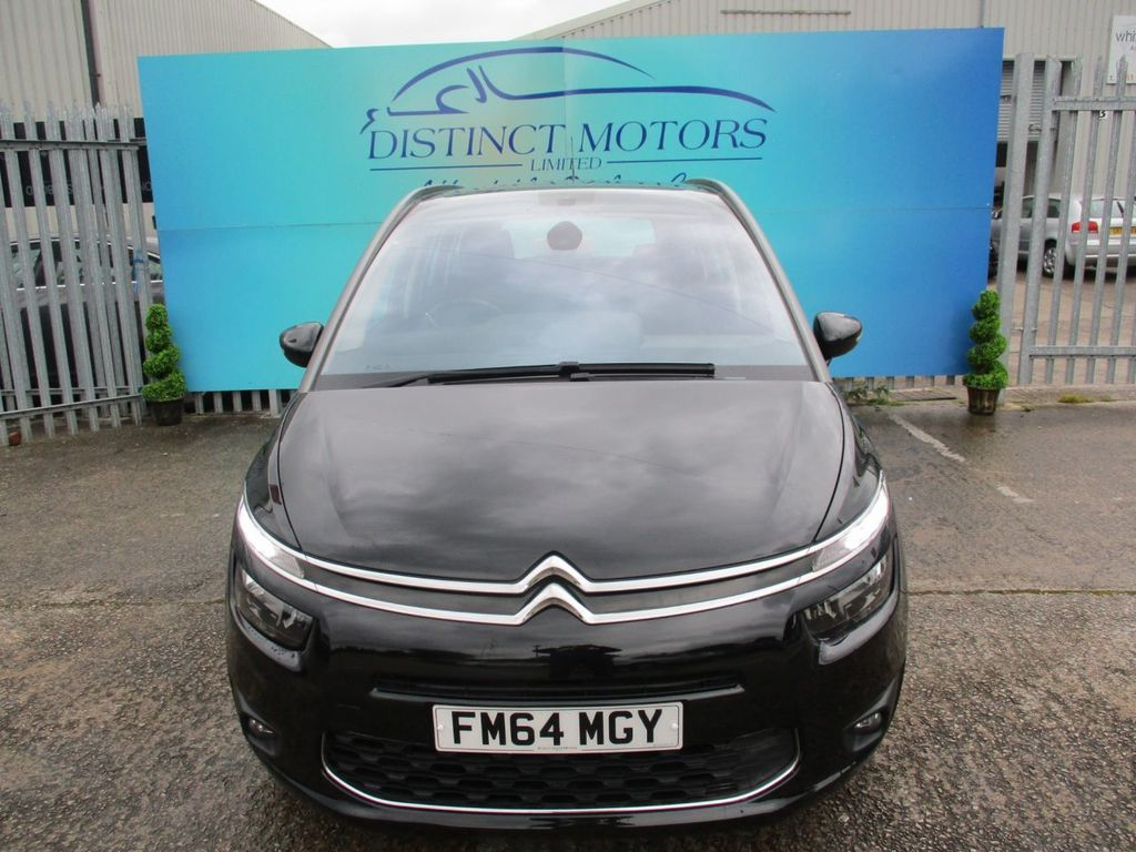 CITROEN C4 PICASSO 1.6 E-HDI EXCLUSIVE ETG6 5DR SEMI AUTOMATIC