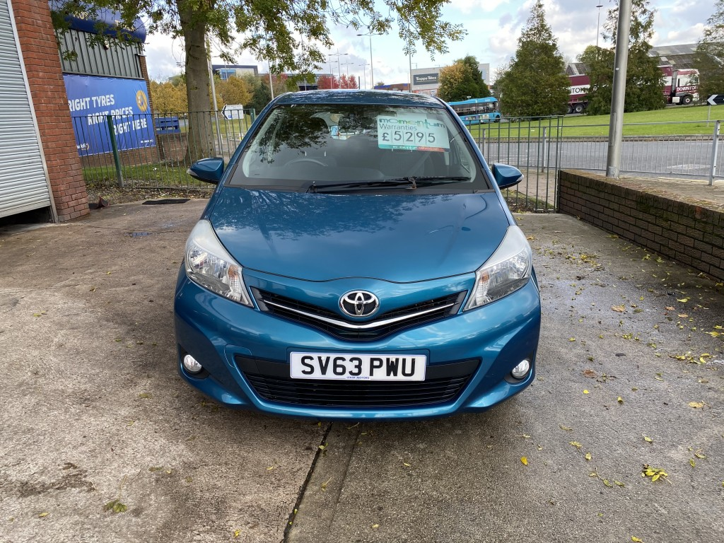 TOYOTA YARIS 1.0 VVT-I ICON PLUS 5DR