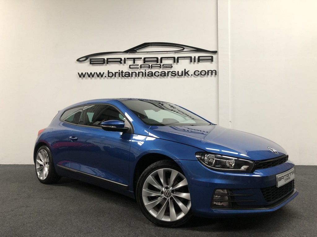VOLKSWAGEN SCIROCCO 1.4 GT TSI BLUEMOTION TECHNOLOGY 2DR