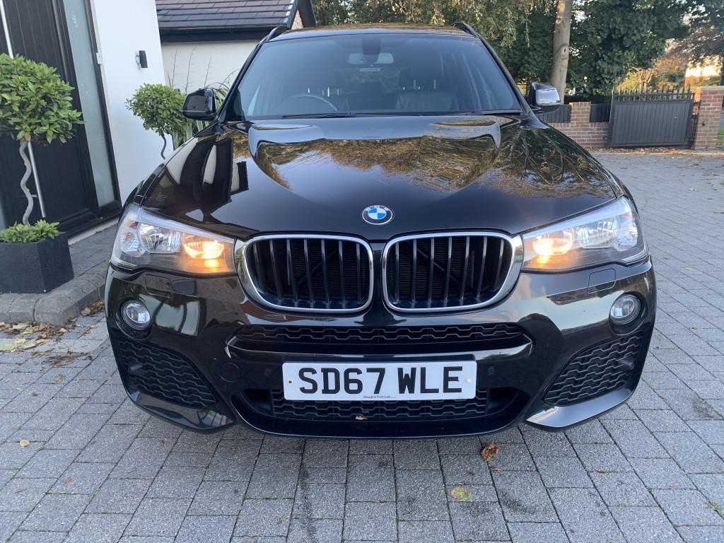 BMW X3 2.0 XDRIVE20D M SPORT 5DR AUTOMATIC