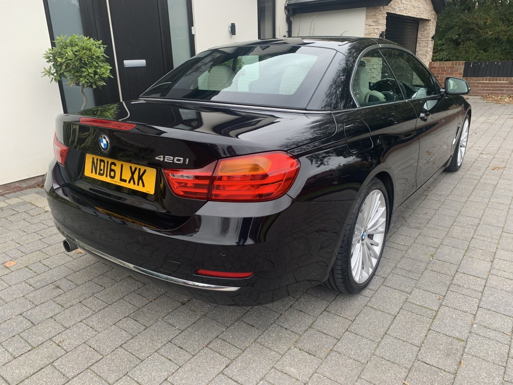 BMW 4 SERIES 2.0 420I LUXURY 2DR AUTOMATIC