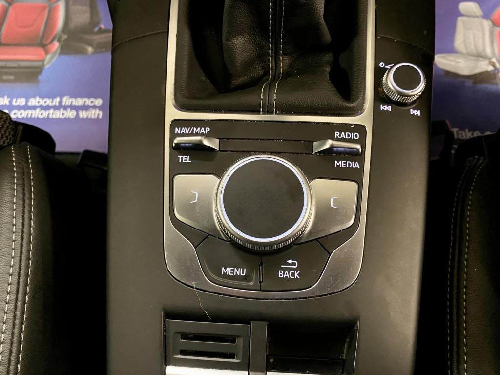 AUDI A3 2.0 TDI BLACK EDITION 4DR
