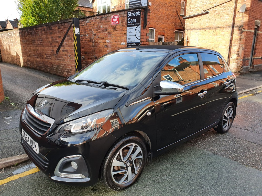 PEUGEOT 108 1.2 ALLURE TOP 5DR FREE ROAD TAX - REVERSE CAMERA - BLUETOOTH - CONVERTIBLE