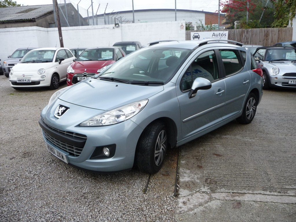 PEUGEOT 207 1.6 HDI SW ACTIVE 5DR