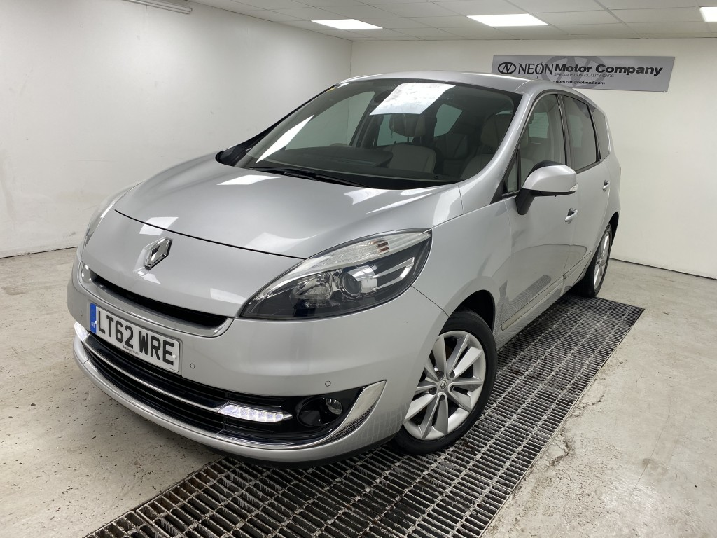 RENAULT SCENIC 1.5 DYNAMIQUE TOMTOM LUXE PACK DCI EDC 5DR SEMI AUTOMATIC
