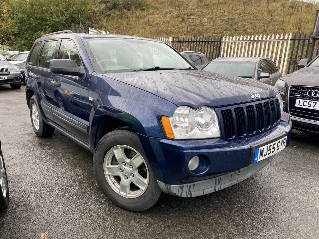 JEEP GRAND CHEROKEE 3.0 V6 CRD 5DR AUTOMATIC