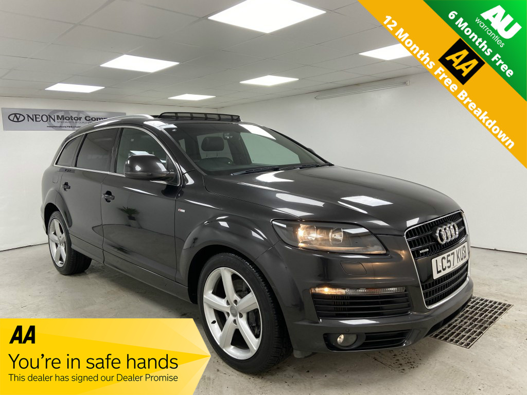 Used AUDI Q7 3.0 TDI QUATTRO S LINE 5DR AUTOMATIC in West Yorkshire