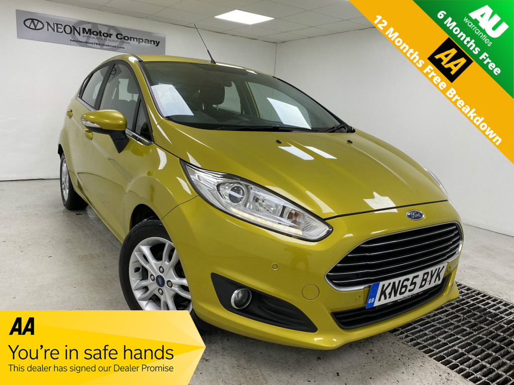 Used FORD FIESTA 1.5 ZETEC TDCI 5DR in West Yorkshire
