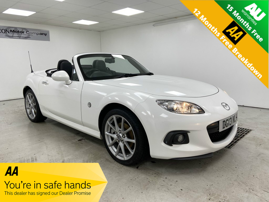 Used MAZDA MX-5 2.0 I ROADSTER SPORT TECH 2DR in West Yorkshire