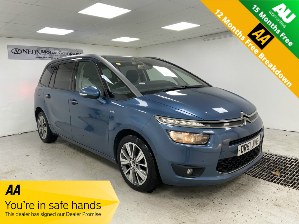 Used CITROEN GRAND C4 PICASSO 2.0 BLUEHDI EXCLUSIVE 5DR in West Yorkshire