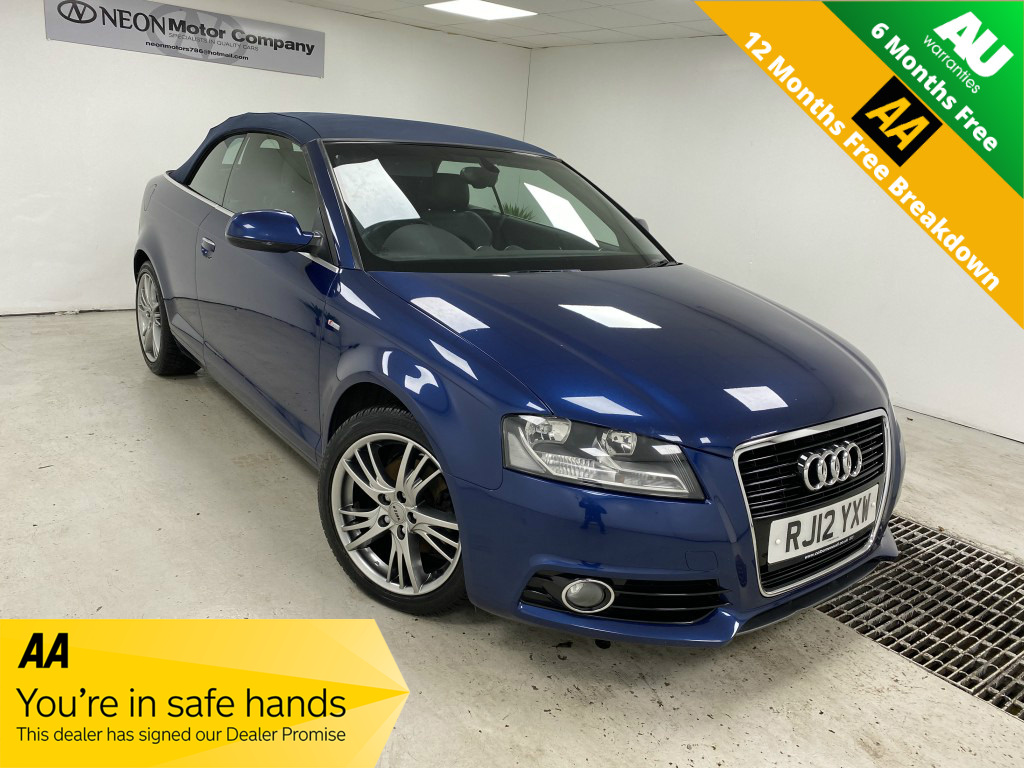 Used AUDI A3 2.0 TDI S LINE 2DR in West Yorkshire