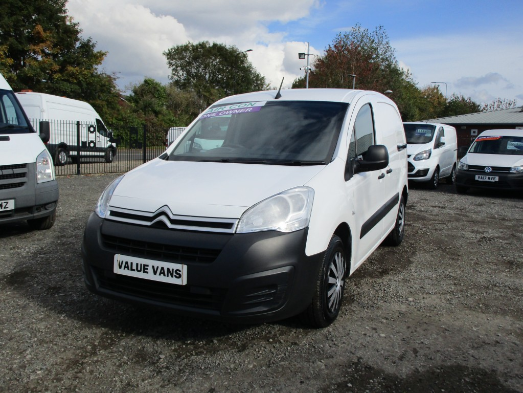 CITROEN BERLINGO 1.6 850 ENTERPRISE L1 BLUEHDI - AIR CON - 3 SEATS - FSH