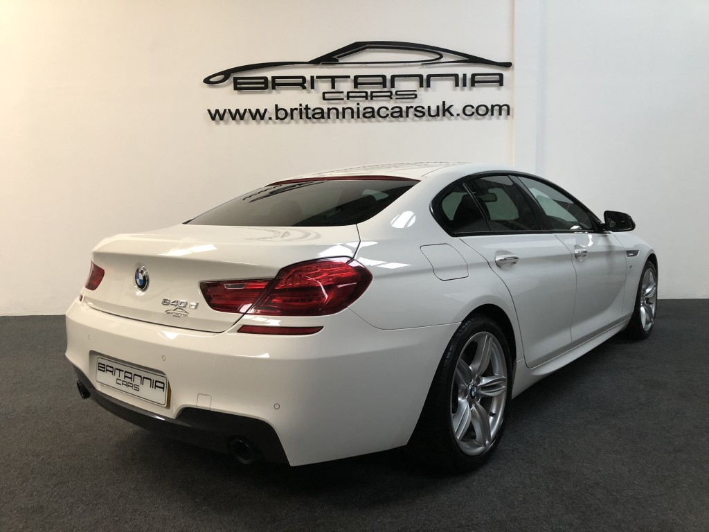 BMW 6 SERIES 3.0 640D M SPORT GRAN COUPE 4DR AUTOMATIC