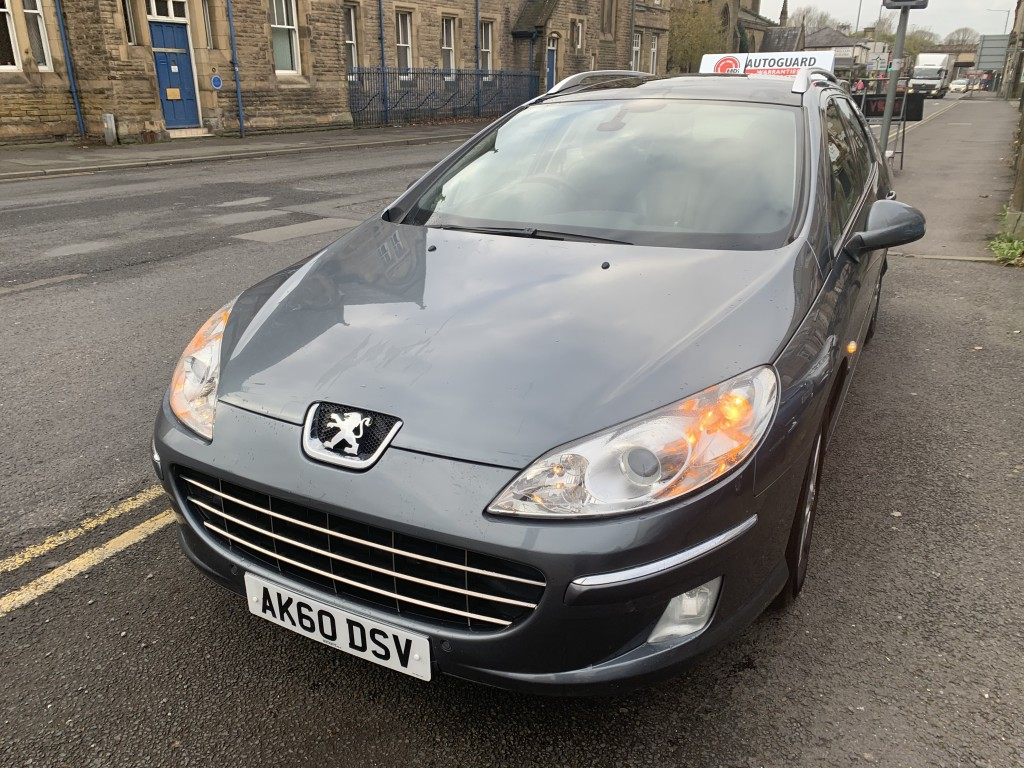 PEUGEOT 407 2.0 SW SPORT HDI 5DR
