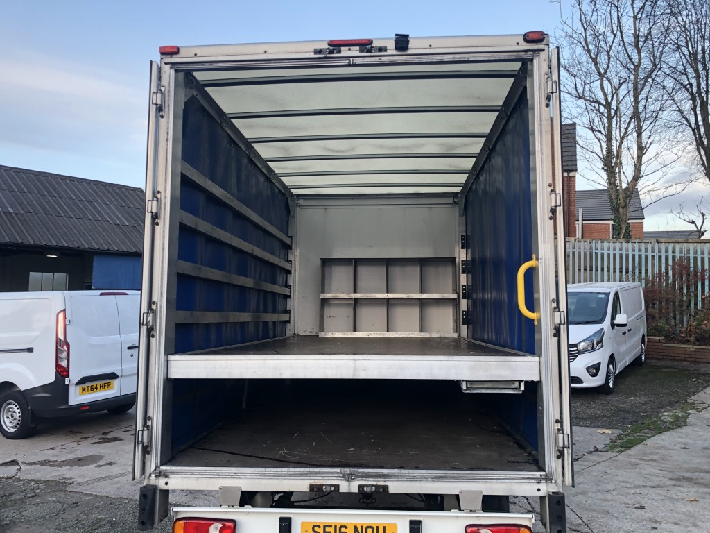 CITROEN RELAY 2.2 35 L3 CURTAINSIDE BLUEHDI S/S