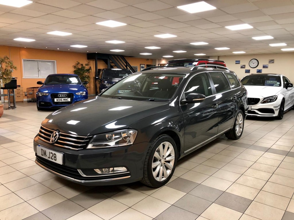 VOLKSWAGEN PASSAT 2.0 HIGHLINE TDI BLUEMOTION TECHNOLOGY 5DR