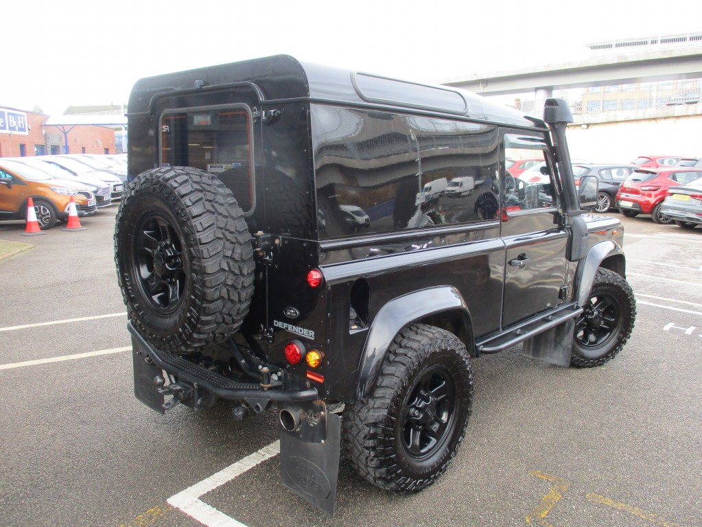 LAND ROVER DEFENDER 2.4 90 COUNTY HARD TOP 2DR