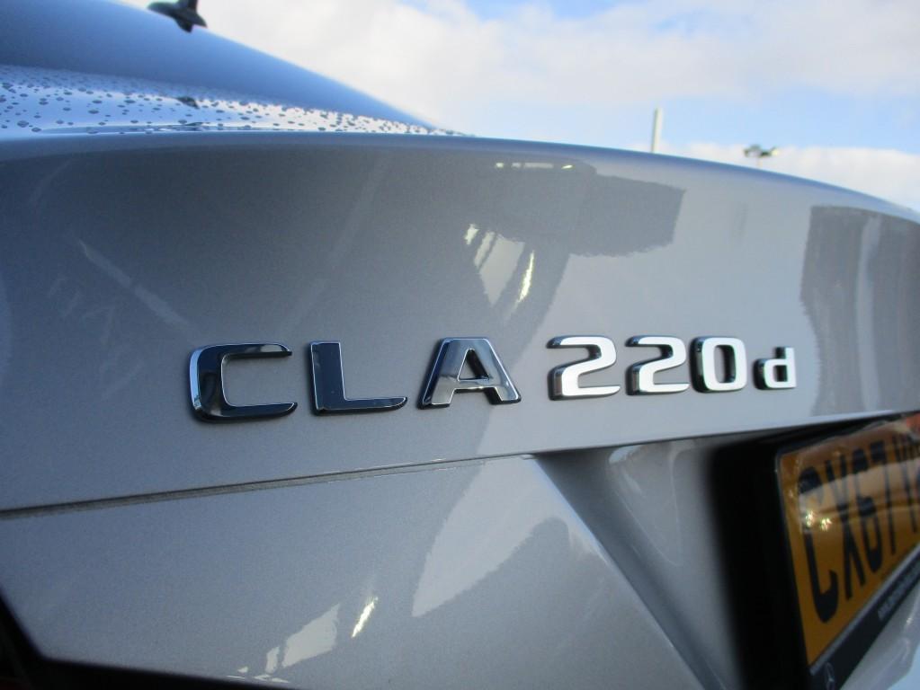 MERCEDES-BENZ CLA CLASS 2.1 CLA 220 D AMG LINE 4DR AUTOMATIC
