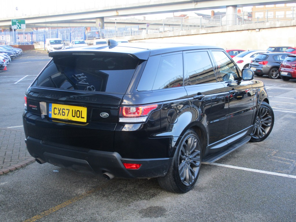 LAND ROVER RANGE ROVER SPORT 3.0 V6 SC HSE DYNAMIC 5DR AUTOMATIC