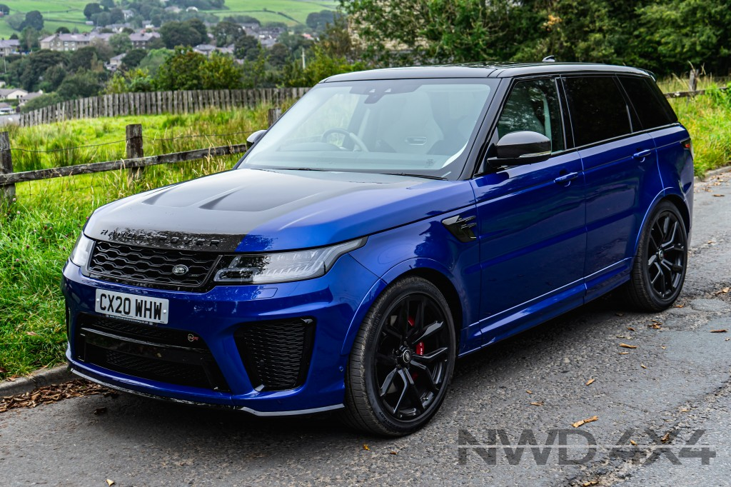 Used LAND ROVER RANGE ROVER SPORT SVR 5.0 SVR 5DR AUTOMATIC in Lancashire