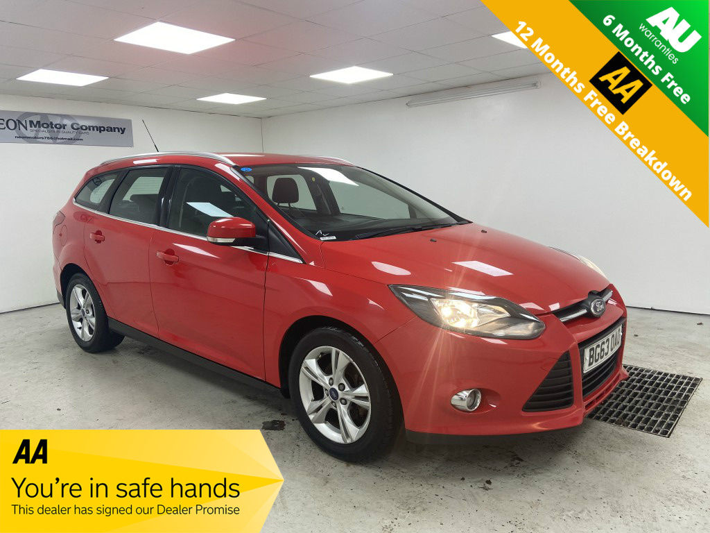 Used FORD FOCUS 1.6 ZETEC TDCI 5DR in West Yorkshire