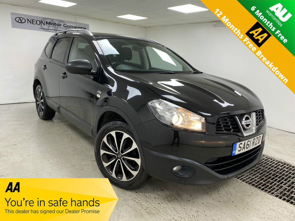 Used NISSAN QASHQAI+2 1.6 N-TEC IS PLUS 2 5DR in West Yorkshire