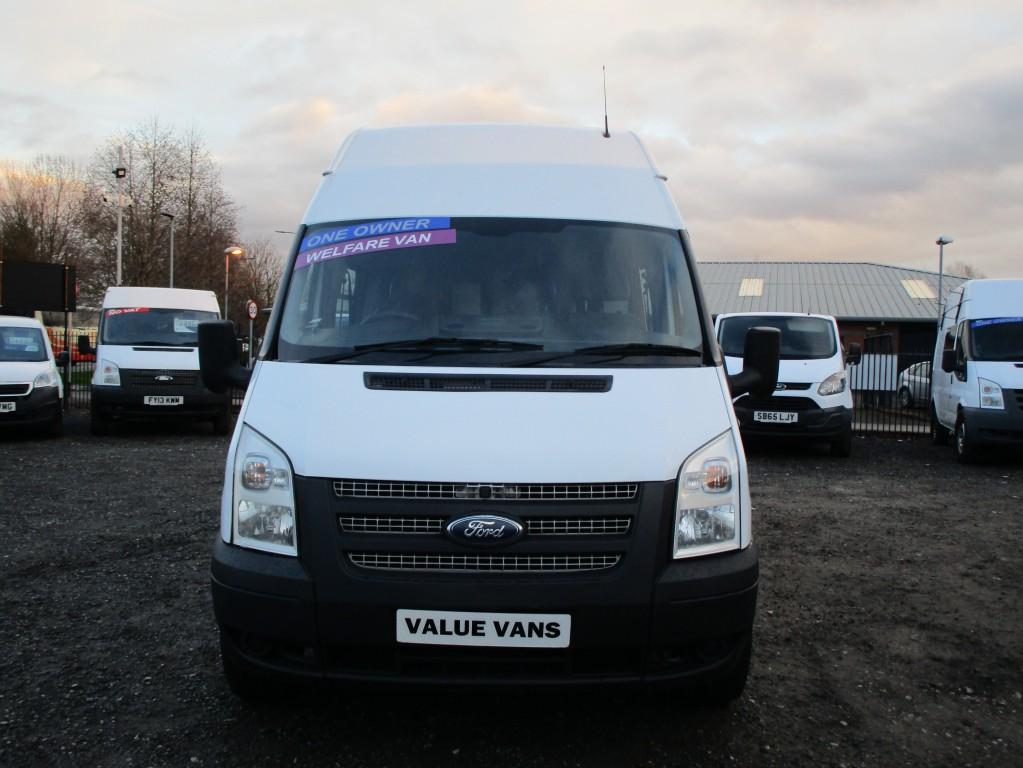 FORD TRANSIT 350 H/R WELFARE/MESS VAN 2.4 T350 LWB RWD - 5 SEATS - FSH - NO VAT