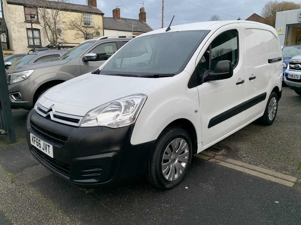 2017 (66) CITROEN BERLINGO  1.6 625 ENTERPRISE L1 BLUEHDI | <em>40,000 miles