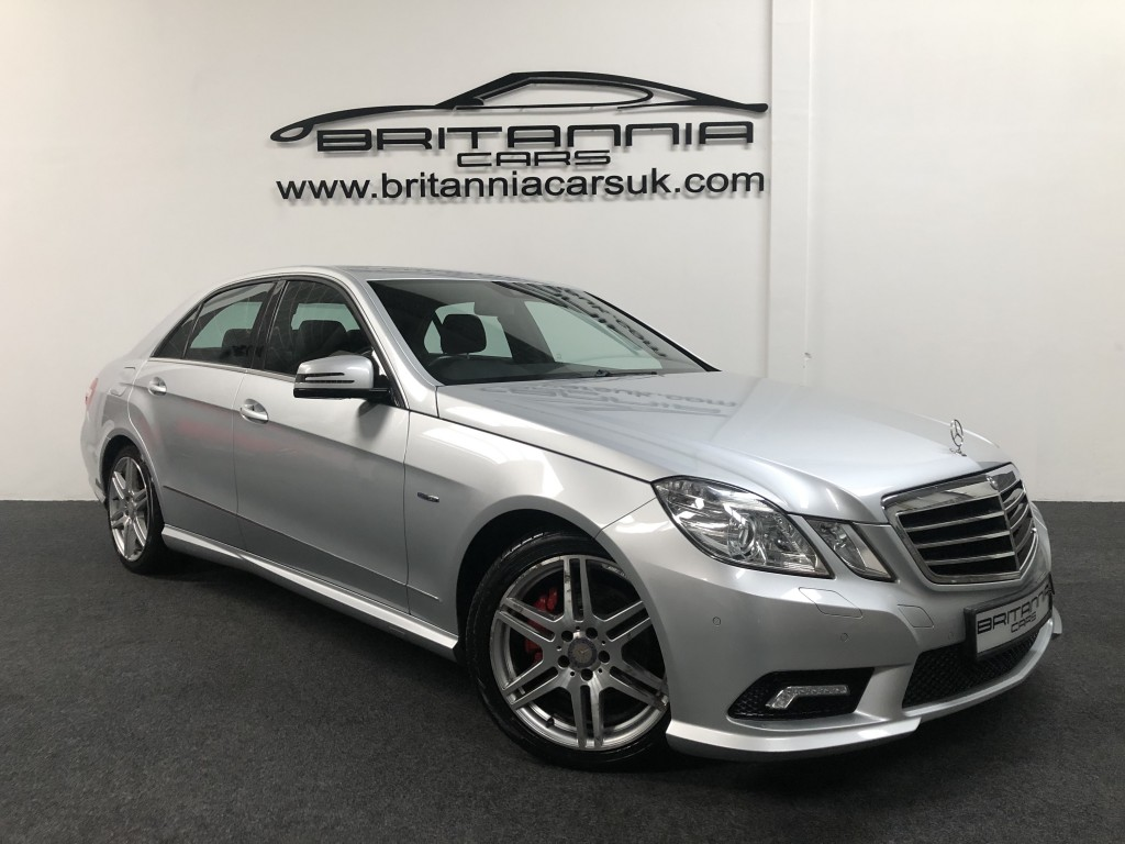 MERCEDES-BENZ E CLASS 3.0 E350 CDI BLUEEFFICIENCY SPORT 4DR AUTOMATIC