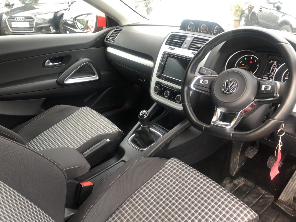 VOLKSWAGEN SCIROCCO 1.4 TSI BLUEMOTION TECHNOLOGY 2DR