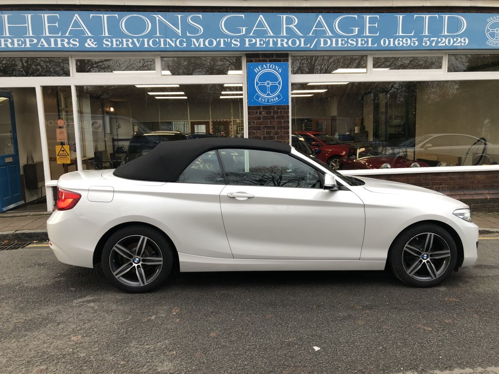 BMW 2 SERIES 1.5 218I SPORT 2DR