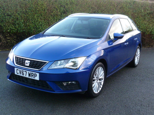 SEAT LEON 1.6 TDI SE DYNAMIC TECHNOLOGY DSG 5DR SEMI AUTOMATIC