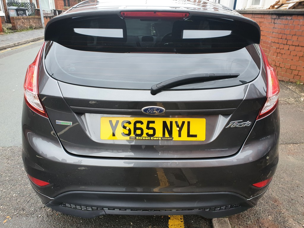 FORD FIESTA 1.0 ZETEC S 3DR £0 ROAD TAX - ONLY 31661 MILES - SH