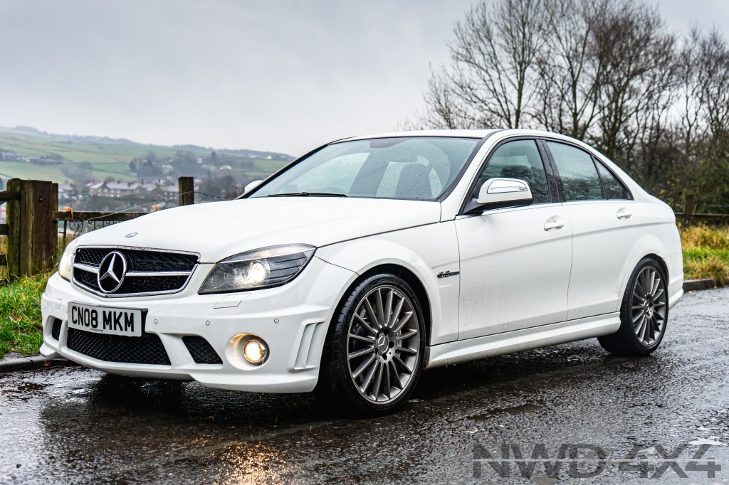 Used MERCEDES-BENZ C CLASS 6.2 C63 AMG 4DR AUTOMATIC in Lancashire
