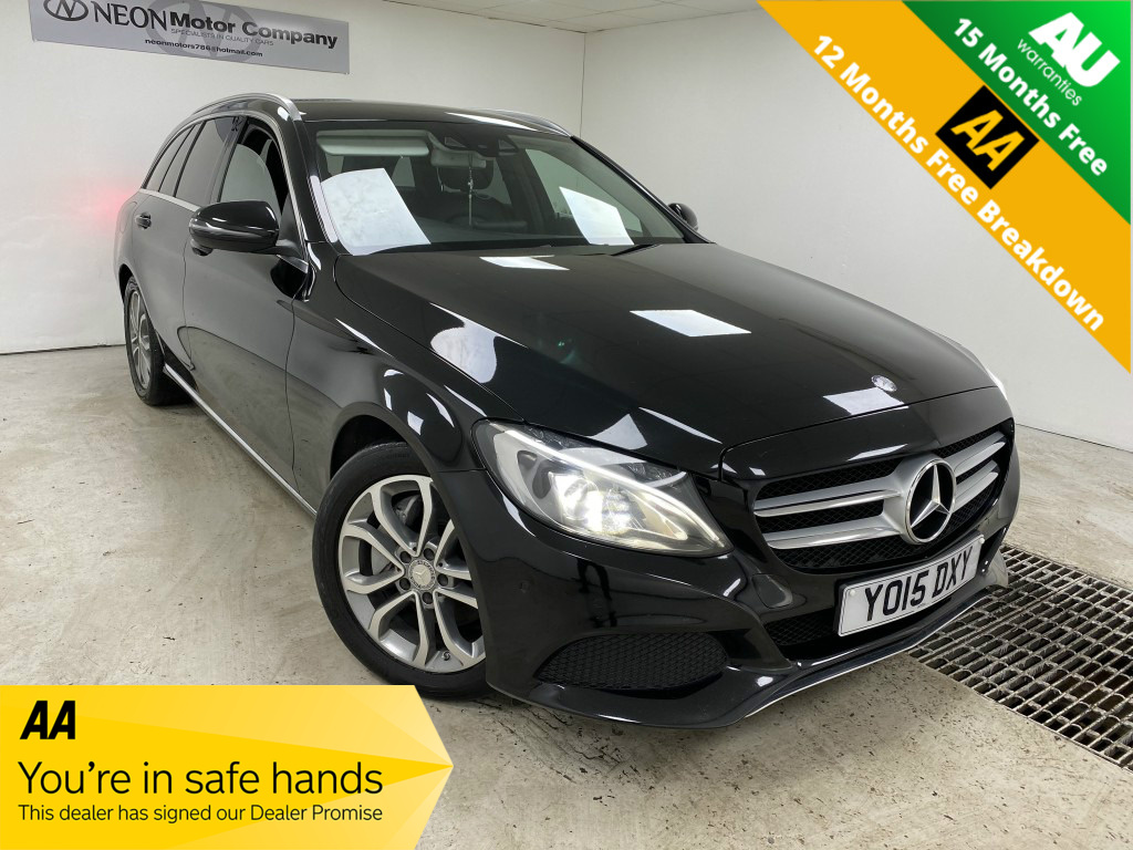Used MERCEDES-BENZ C CLASS 2.1 C250 D SPORT 5DR AUTOMATIC in West Yorkshire