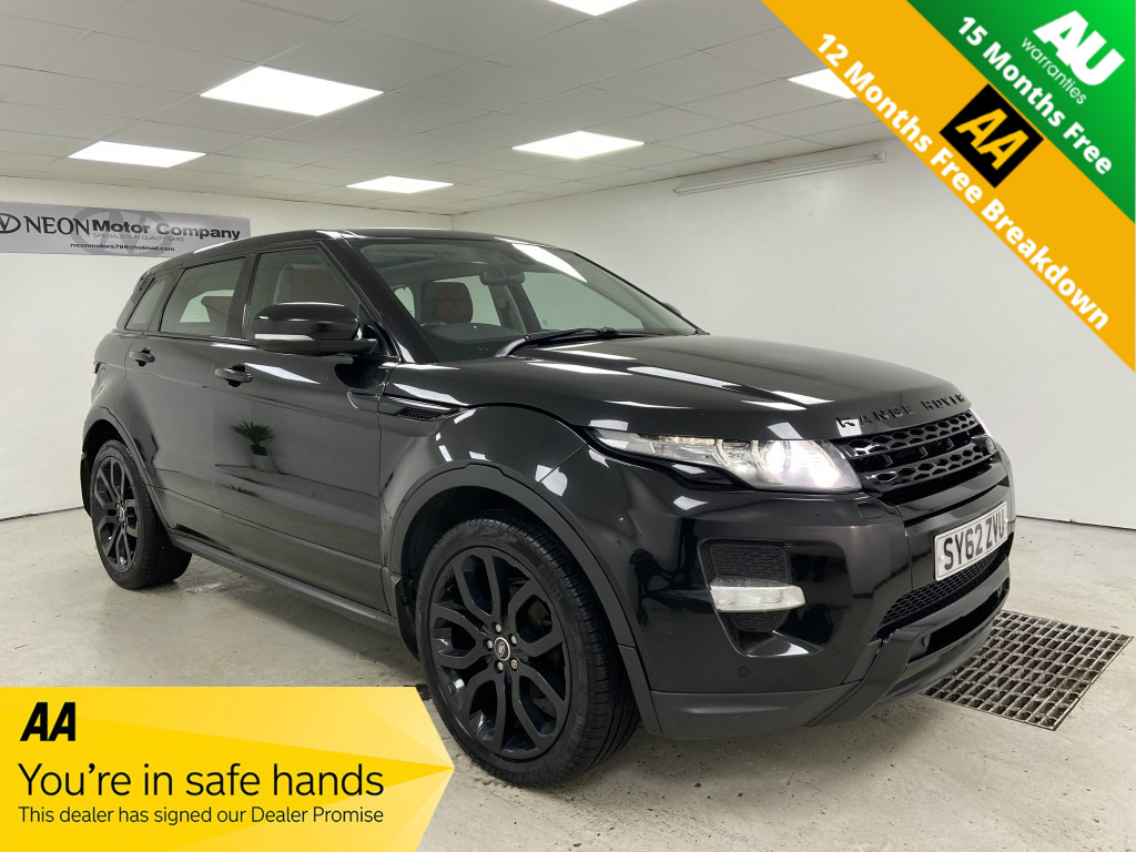 Used LAND ROVER RANGE ROVER EVOQUE 2.2 SD4 DYNAMIC 5DR in West Yorkshire