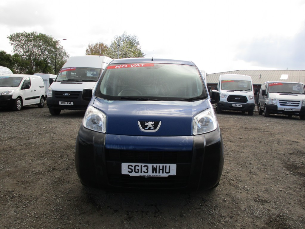 PEUGEOT BIPPER 1.2 HDI S - ONE OWNER - FSH - NO VAT
