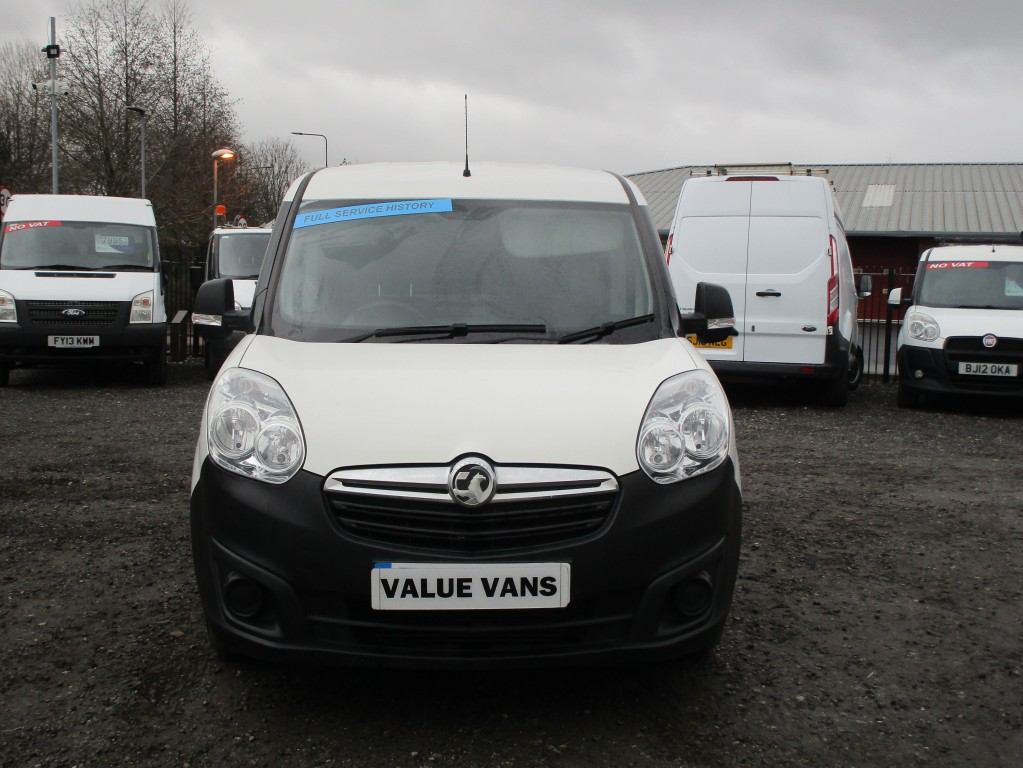 VAUXHALL COMBO 1.2 L1 H1 2000 CDTI - EURO 6 - ONE OWNER - FSH