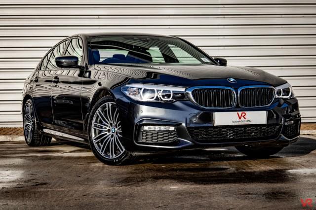 2017 (17) BMW 5 SERIES 3.0 530D XDRIVE M SPORT 4DR AUTOMATIC | <em>55,913 miles