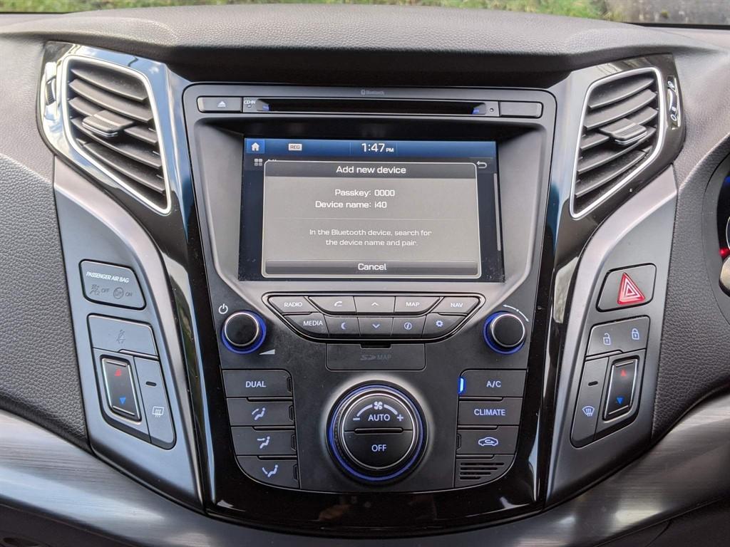 HYUNDAI I40 1.7 CRDI SE NAV BLUE DRIVE 5DR