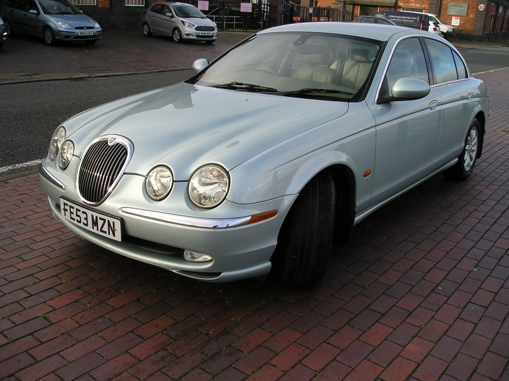 JAGUAR S-TYPE 3.0 SE V6 4DR AUTOMATIC