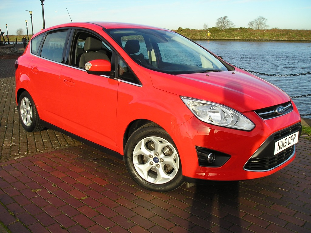 FORD C-MAX 1.6 ZETEC TDCI 5DR YES 19K ONLY
