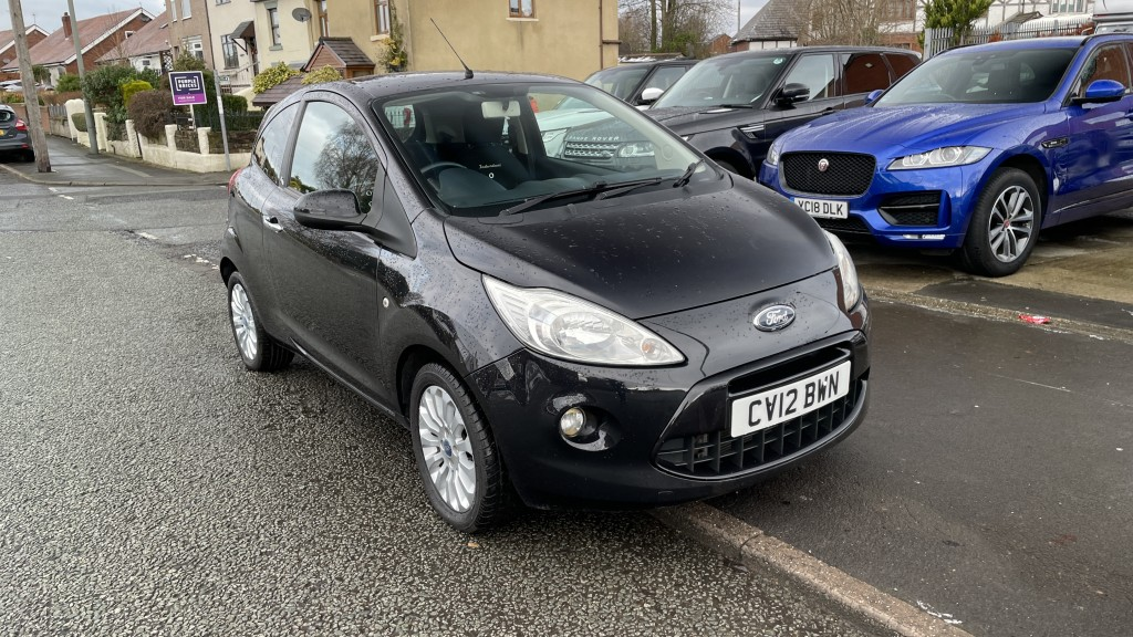 FORD KA 1.2 METAL 3DR