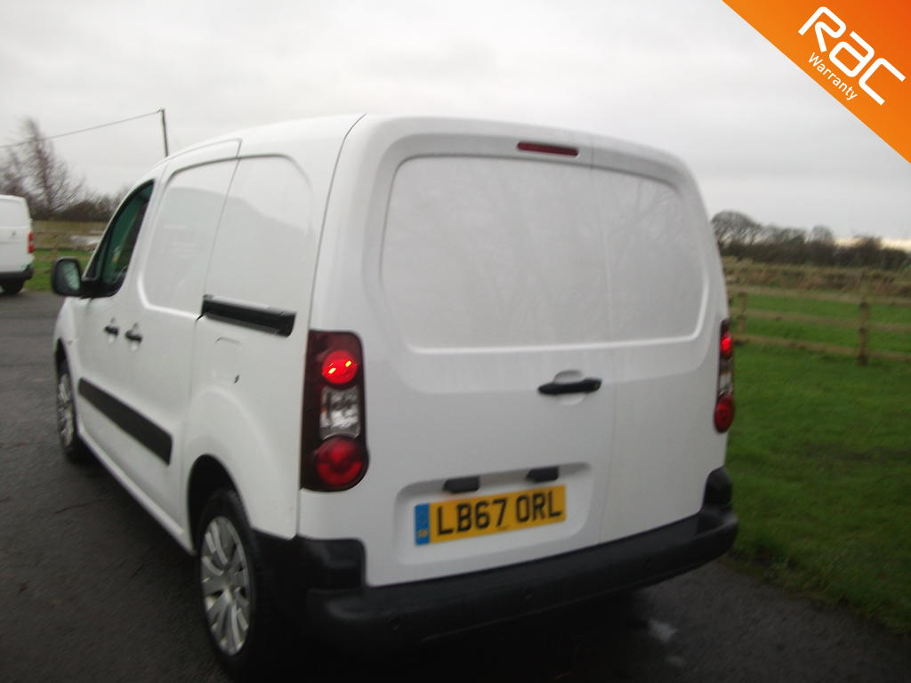 CITROEN BERLINGO DIESEL PANEL VAN 1.6 625 ENTERPRISE L1 BLUEHDI