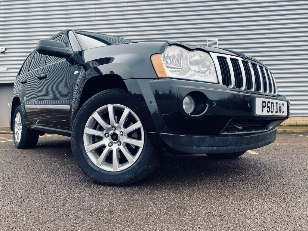 JEEP GRAND CHEROKEE 3.0 V6 CRD OVERLAND 5DR AUTOMATIC